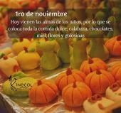 Días de muertos: celebración vegetal